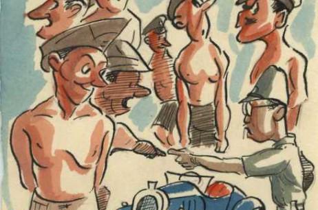 'All Men Push' Towner Road POW Camp (1942)