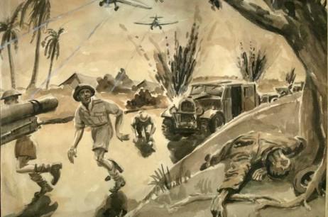 Under Attack At Kluang (Jan 1942)