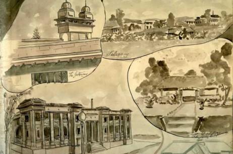 Changi Goal & Selerang Barracks Area: The Gateway; Selerang; 'Con' Depot Selerang (1945)