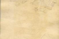 Rough sketch of 'Bert' Butler & 'Tiffy' Dunstan