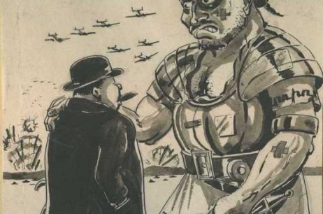'Give Us A Go Dig, Break It Down A Bit, Will Yuh!!': Roman Soldier to Winston Churchill (1945)