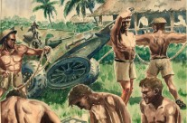 25 Pounder Gun Crew, Malaya