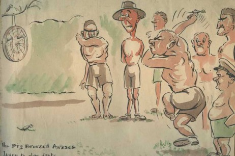 The Big Bronzed Anzacs Learn To Play Darts