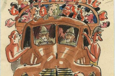 """""""Going To Work"""": From Towner Road POW Camp (1942)"""