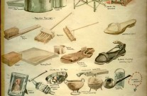 Improvised Equipment: A Selection Of Many Items Manufactured By POW's At Changi