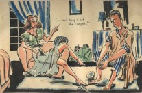 'Keep it off the carpet' (1945)