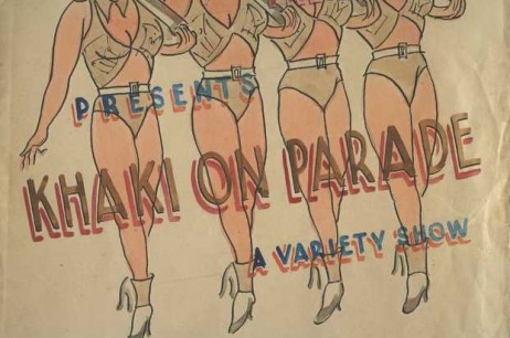 'Khaki on Parade' by The Camp Theatre at Adam Park (Aug 1942)
