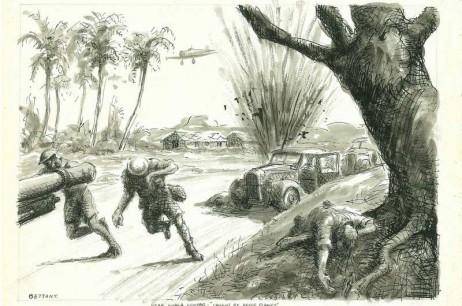 Caught By Japanese Recce Planes Near Kuala Lumpar, Malaya