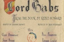 'Lord Babs' by The Command Theatre at Changi POW Camp (Nov 1st 1943)