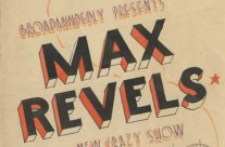 'Max Revels' by The Palladium Theatre, Changi (May 1943)