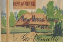 'The New World Inn' by S.J. Cole at The Command Theatre, Changi P.O.W Camp (July 1943)