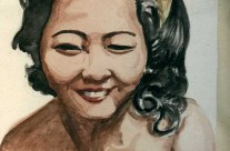 Portrait Of A Malay Woman