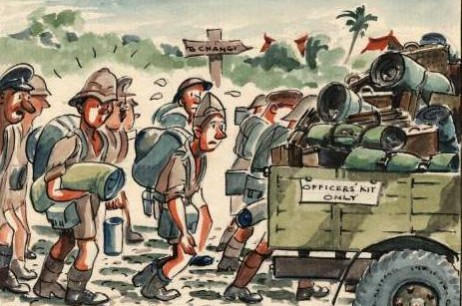 Forced March to Changi (Feb 17th 1942)