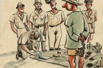 'The Search' Changi Gaol (August 1945)
