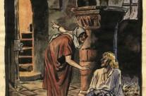 Medieval Man & Women in Undercroft