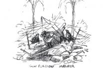 Gun Position – Malaya