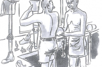 'Quality Control' – Limb Factory Changi (1945)