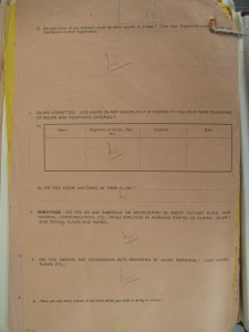 National War Archives, Kew, Q Rear