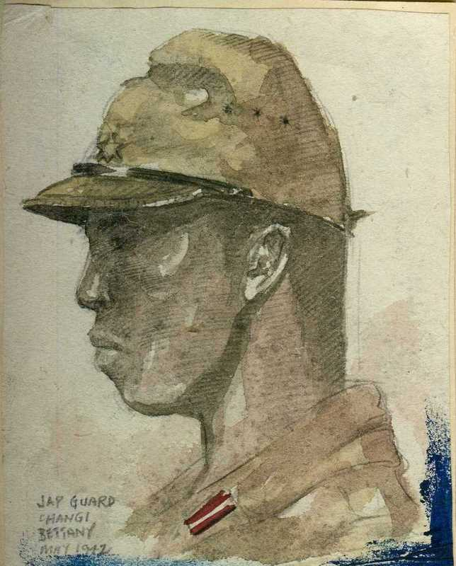 Portrait:  Jap guard
