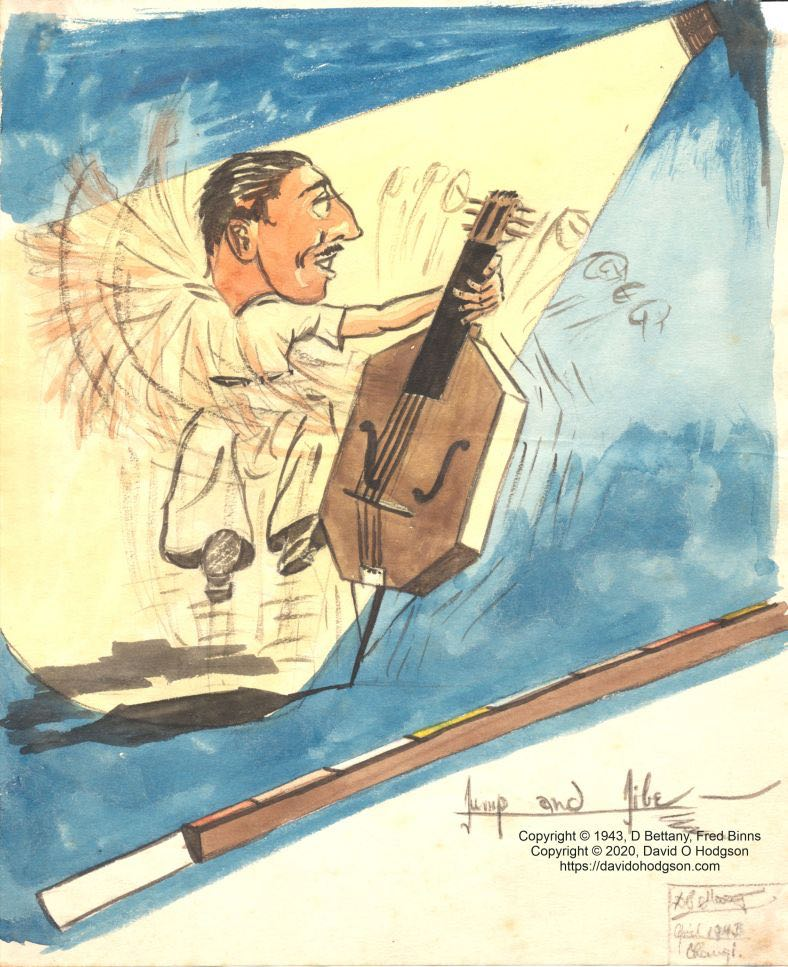 Jump & Jibe - Fred Binns Double Bass 1943