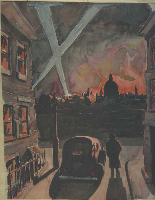 The Fire of London Sept 1940